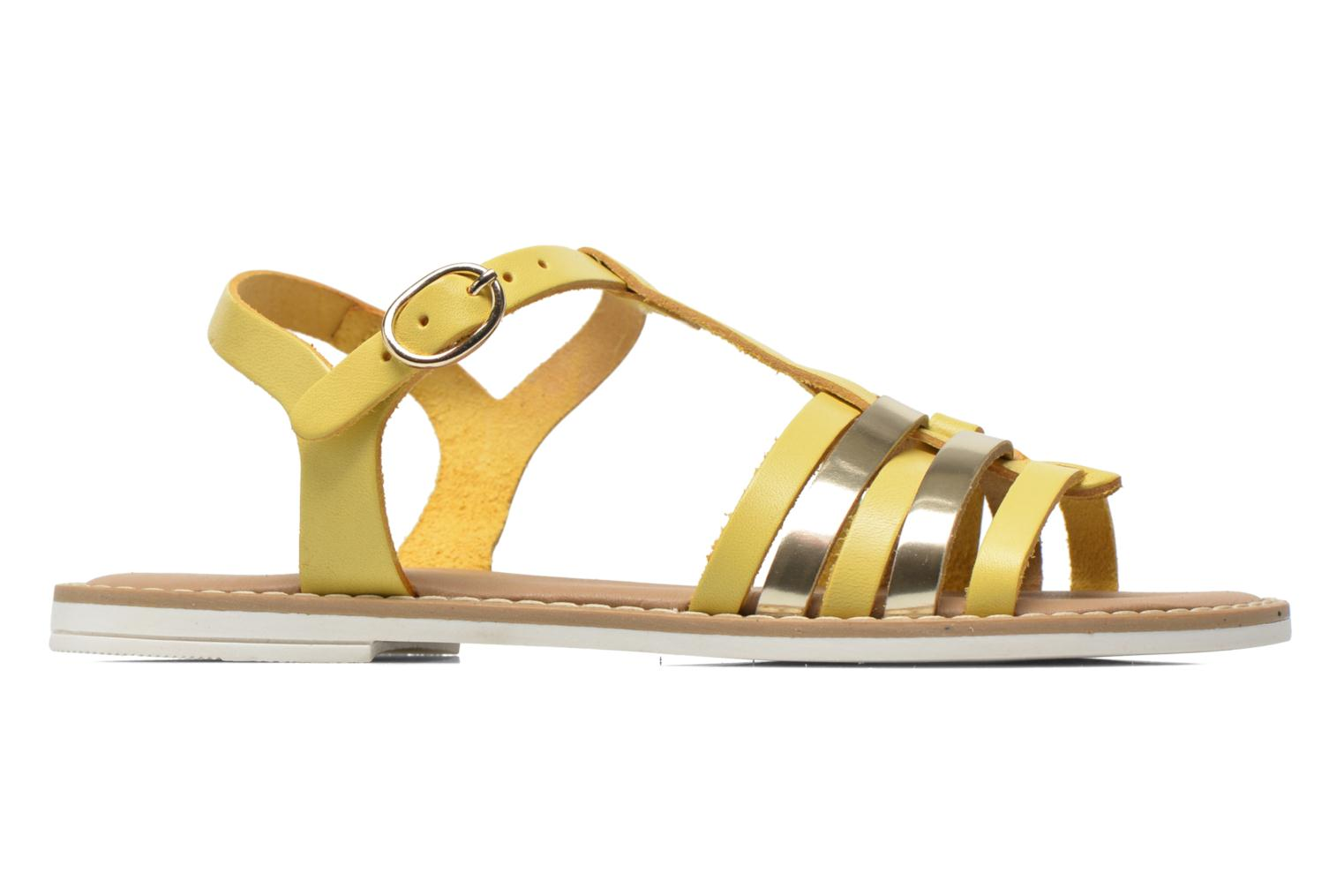 Sandals I Love Shoes Dobrides Yellow back view