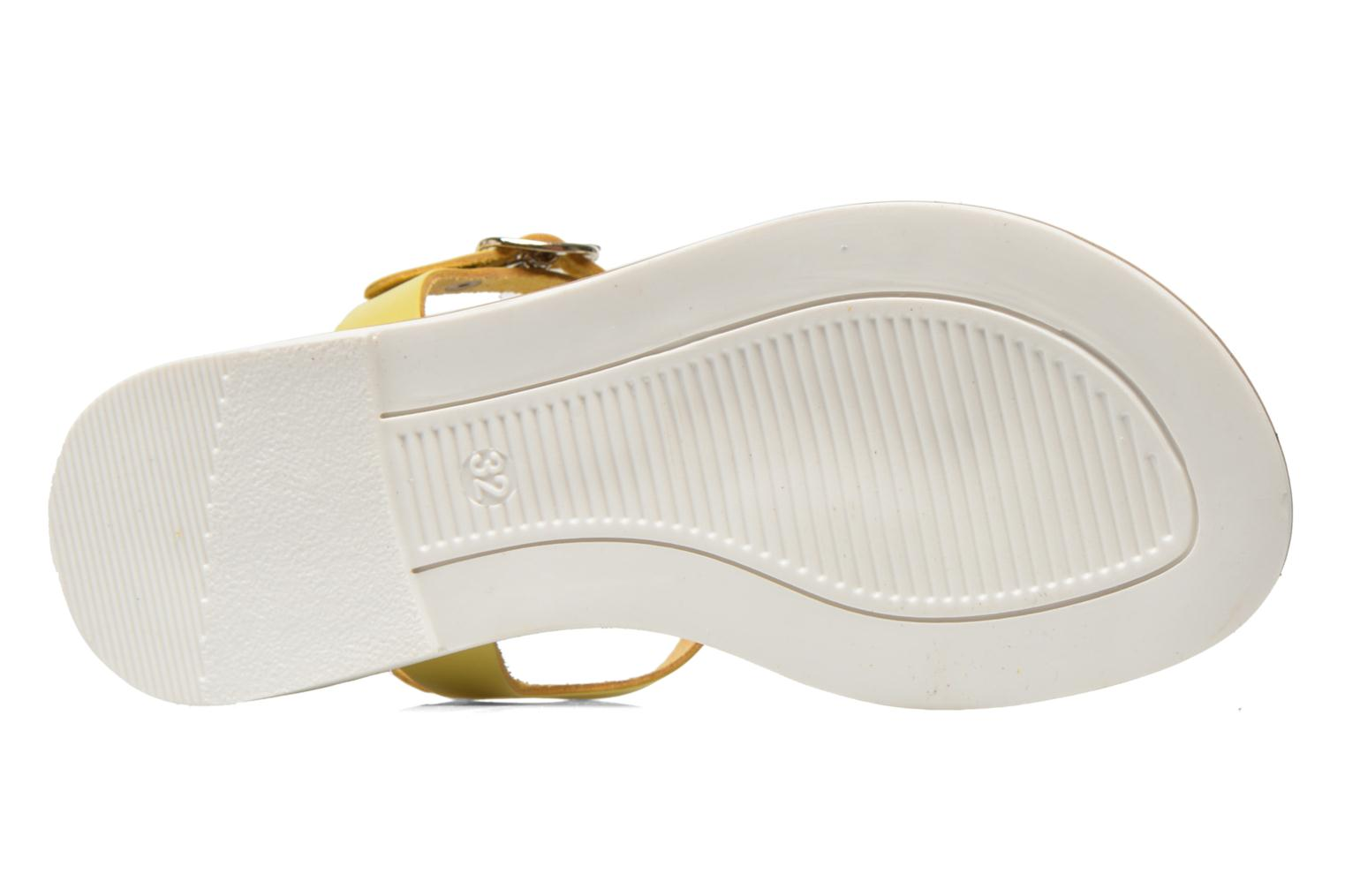 Sandals I Love Shoes Dobrides Yellow view from above