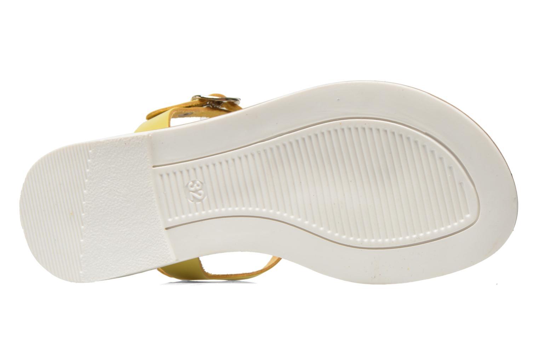 Sandalias I Love Shoes Dobrides Amarillo vista de arriba