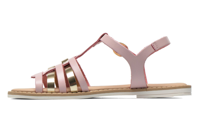 Sandales et nu-pieds I Love Shoes Dobrides Rose vue face