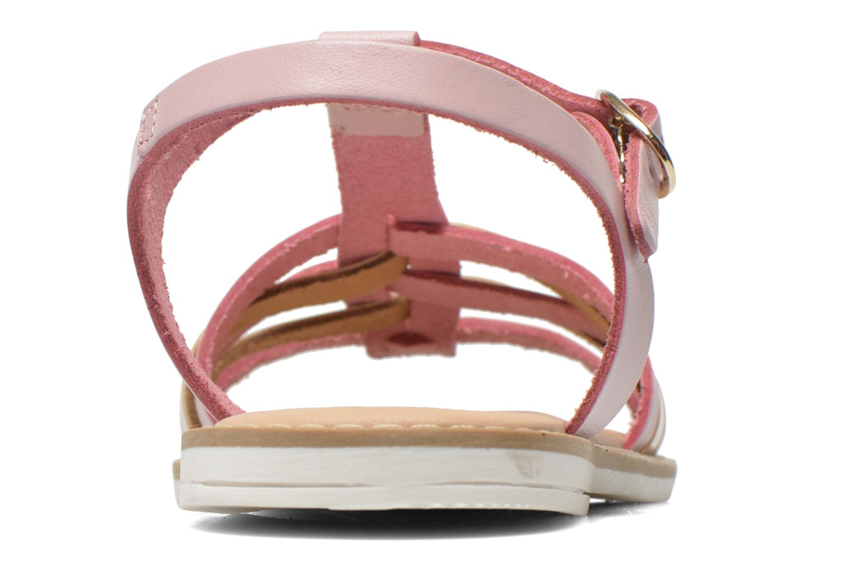 Sandalias I Love Shoes Dobrides Rosa vista lateral derecha