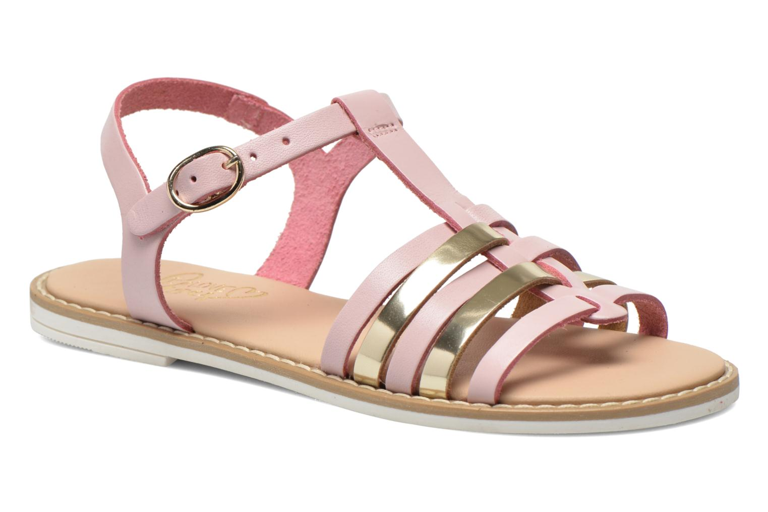 Sandals I Love Shoes Dobrides Pink detailed view/ Pair view