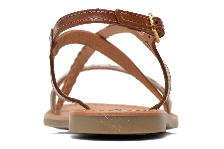 Sandals Les Tropéziennes par M Belarbi Horse Brown view from the right