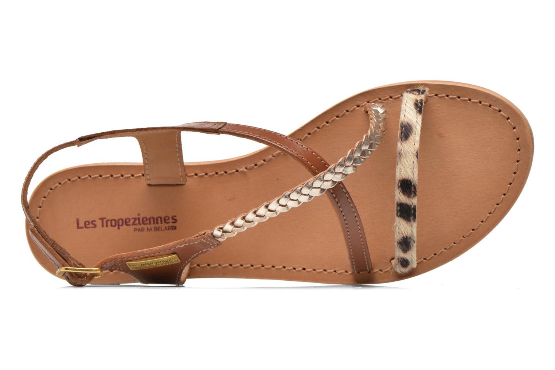 Sandals Les Tropéziennes par M Belarbi Horse Brown view from the left