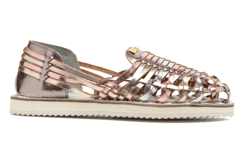 Sandales et nu-pieds Les Tropéziennes par M Belarbi Mardi Or et bronze vue derrière