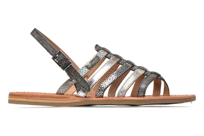 Sandales et nu-pieds Les Tropéziennes par M Belarbi Belinda Argent vue derrière