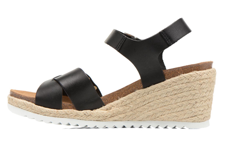 Sandales et nu-pieds Les Tropéziennes par M Belarbi Penka Noir vue face