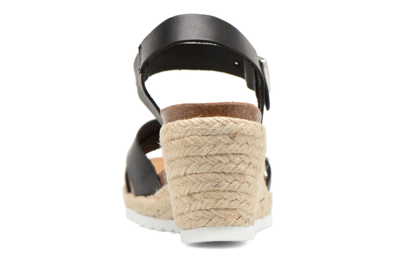 Sandales et nu-pieds Les Tropéziennes par M Belarbi Penka Noir vue droite