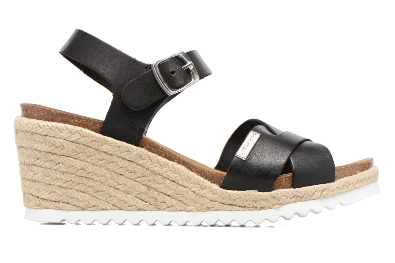 Sandales et nu-pieds Les Tropéziennes par M Belarbi Penka Noir vue derrière