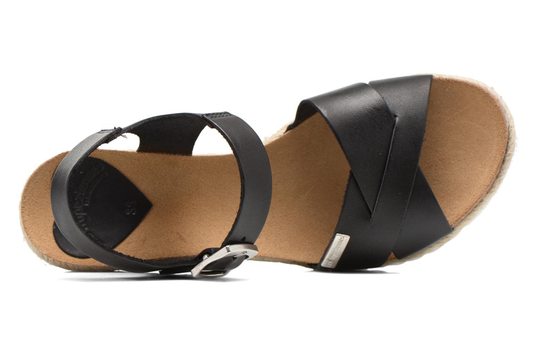 Sandales et nu-pieds Les Tropéziennes par M Belarbi Penka Noir vue gauche