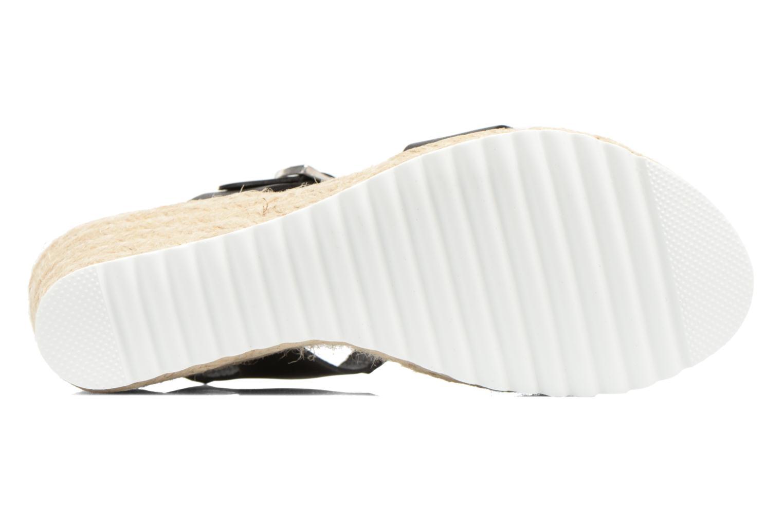 Sandales et nu-pieds Les Tropéziennes par M Belarbi Penka Noir vue haut