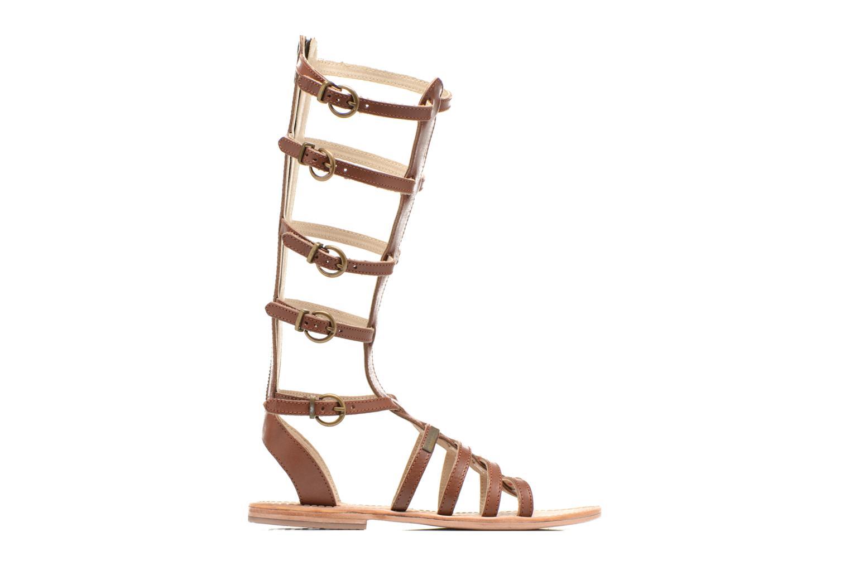Sandales et nu-pieds Les Tropéziennes par M Belarbi Nay Marron vue derrière