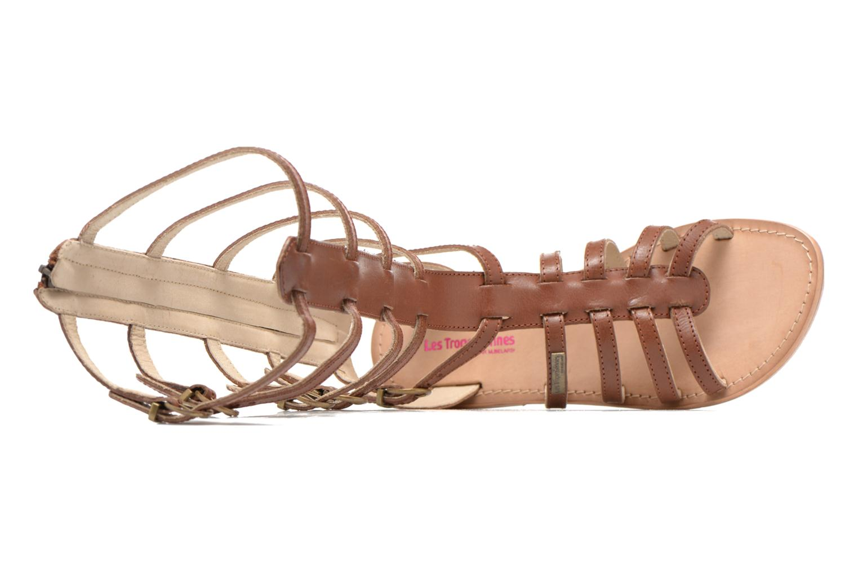 Sandales et nu-pieds Les Tropéziennes par M Belarbi Nay Marron vue gauche