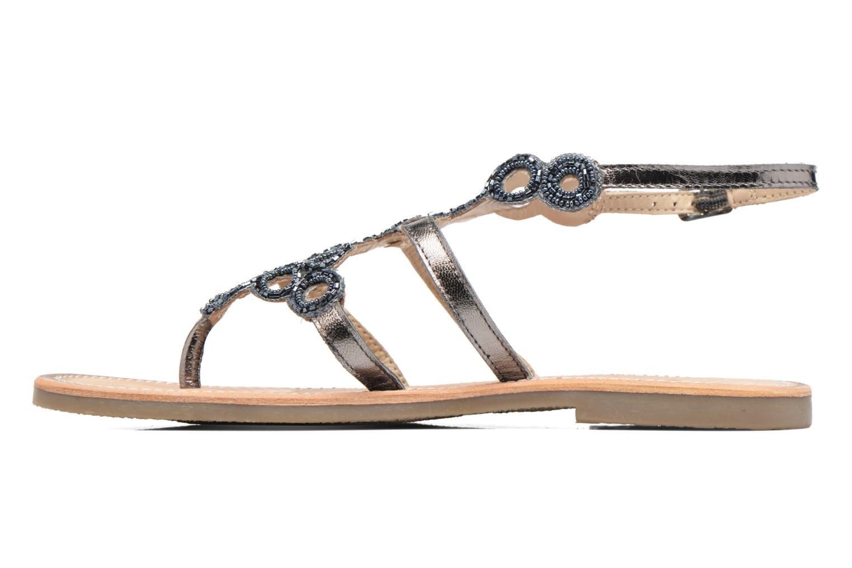 Sandali e scarpe aperte Les Tropéziennes par M Belarbi Ofelie Grigio immagine frontale