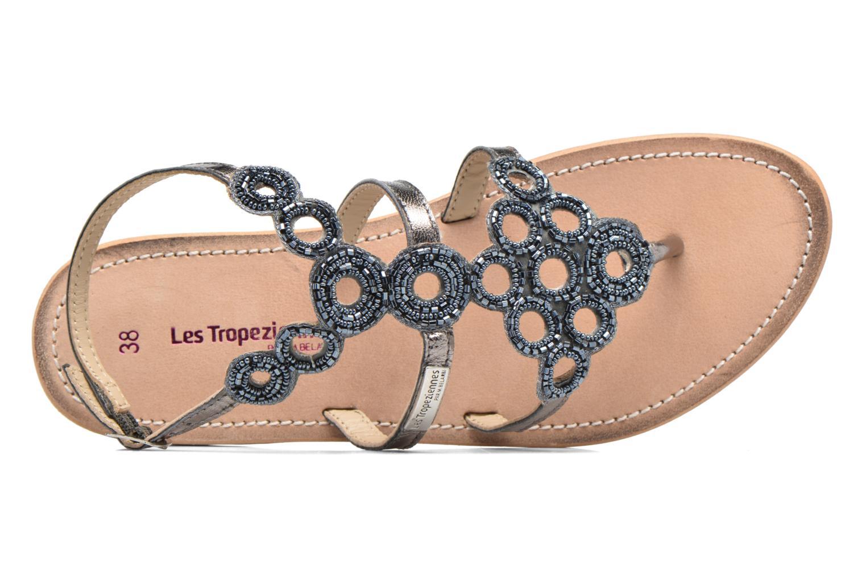 Sandali e scarpe aperte Les Tropéziennes par M Belarbi Ofelie Grigio immagine sinistra