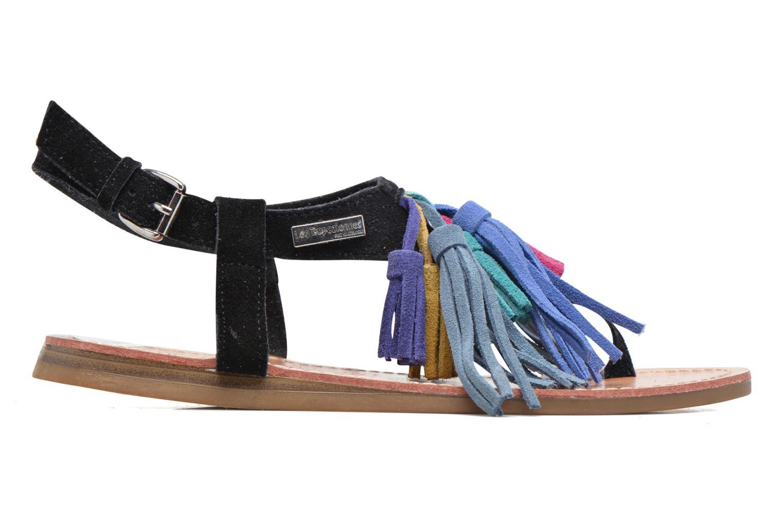 Sandales et nu-pieds Les Tropéziennes par M Belarbi Gorby Noir vue derrière