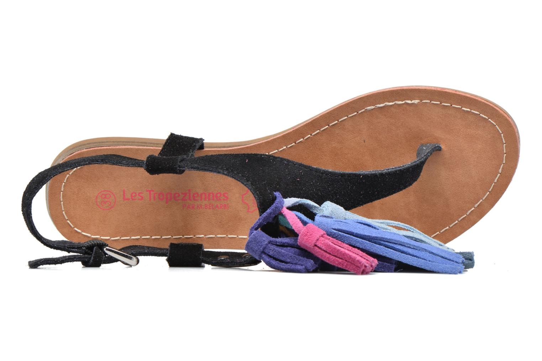 Sandales et nu-pieds Les Tropéziennes par M Belarbi Gorby Noir vue gauche