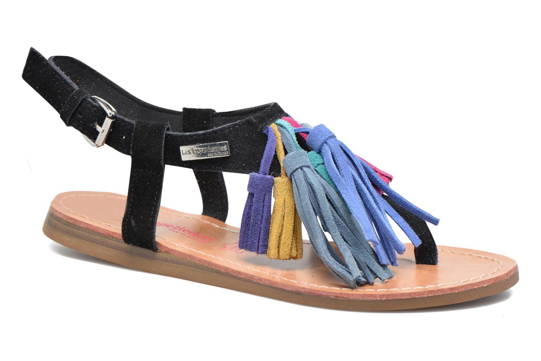 Sandales et nu-pieds Les Tropéziennes par M Belarbi Gorby Noir vue détail/paire