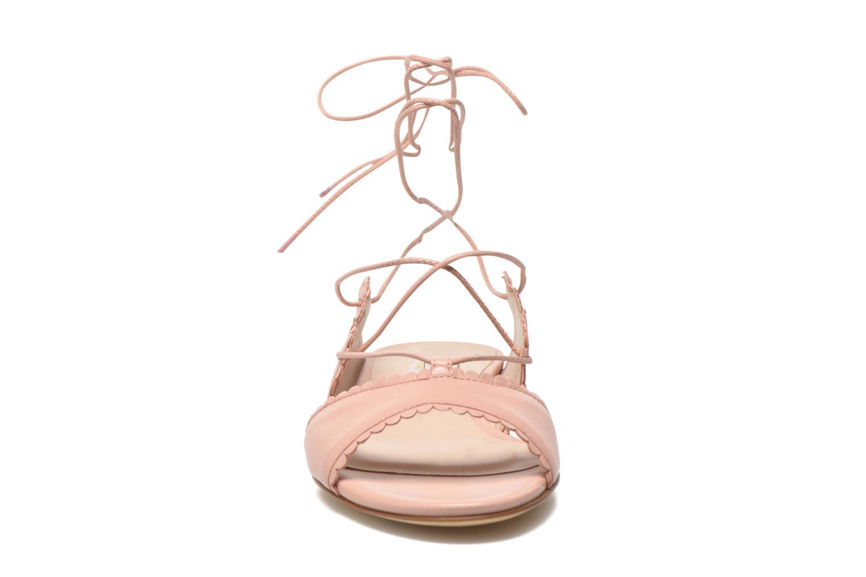 Sandali e scarpe aperte L.K. Bennett Jackies Rosa modello indossato