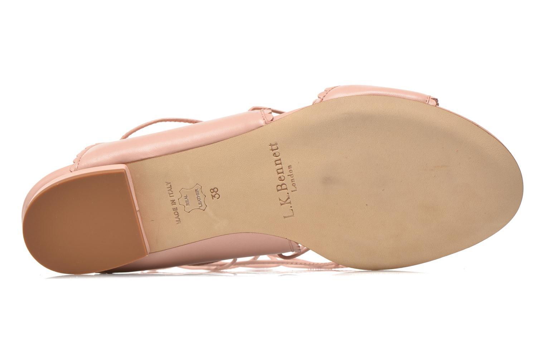 Sandali e scarpe aperte L.K. Bennett Jackies Rosa immagine dall'alto