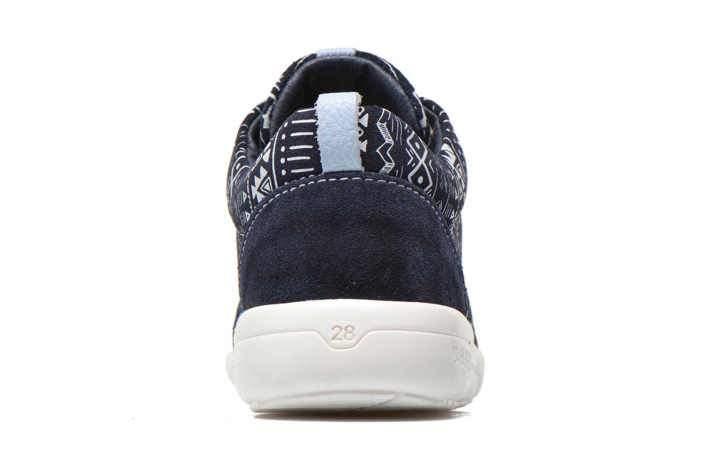 Baskets Shoesme Run flex Bleu vue droite