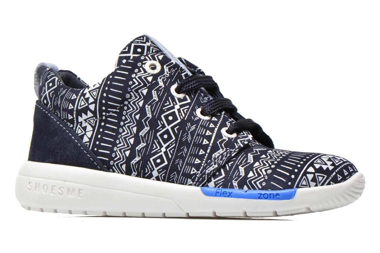 Baskets Shoesme Run flex Bleu vue derrière