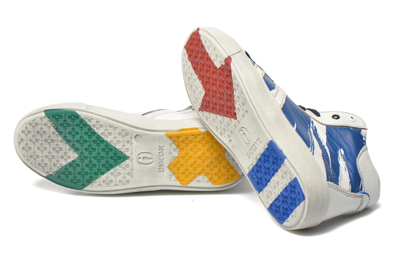 Baskets Shoesme Vulcan Bleu vue 3/4