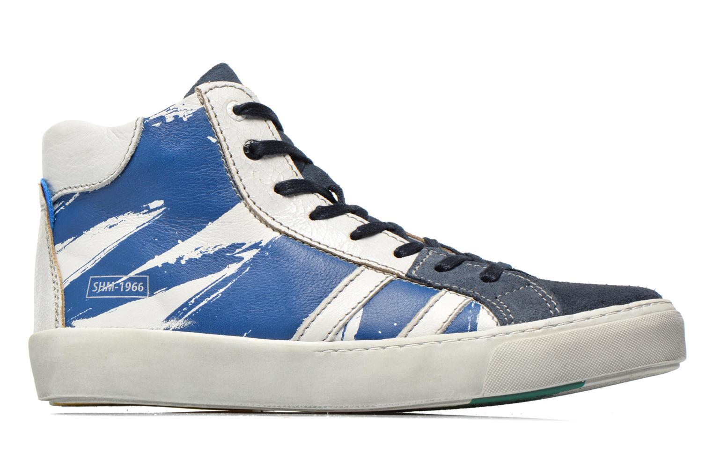 Sneakers Shoesme Vulcan Blå se bagfra