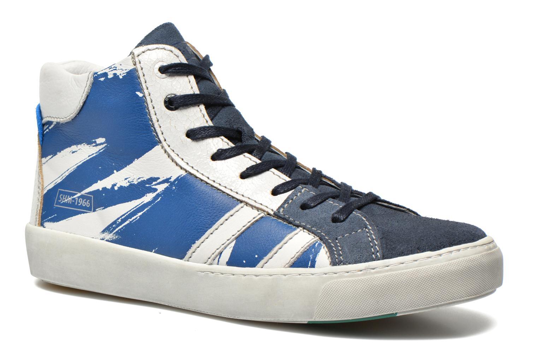 Baskets Shoesme Vulcan Bleu vue détail/paire
