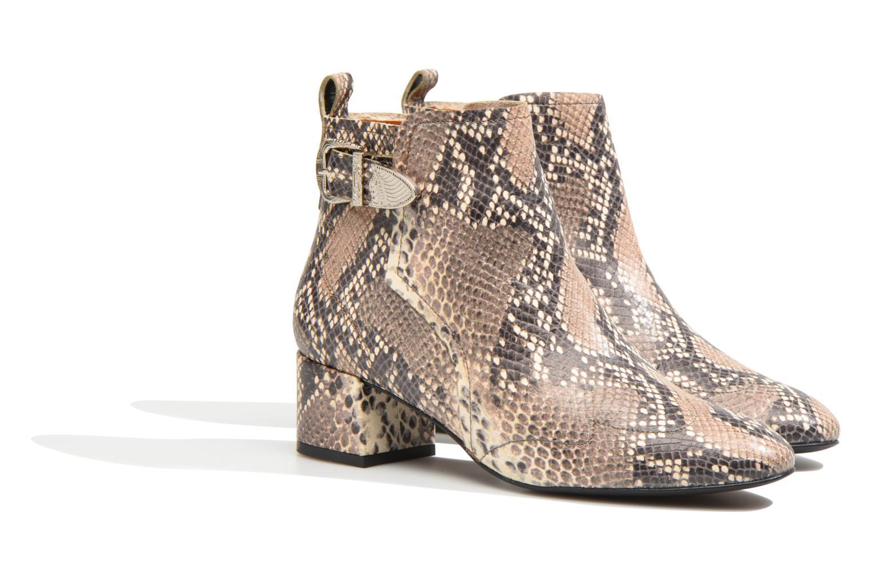 90's Girls Gang Boots #6 Pitgeo naturel