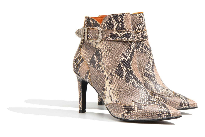 Bottines et boots Made by SARENZA Western Fever #6 Multicolore vue derrière