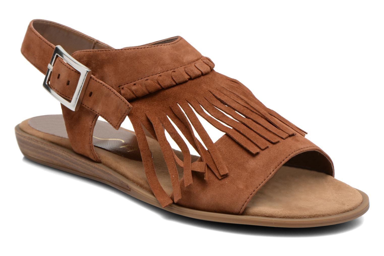 Sandales et nu-pieds Unisa Amolo Marron vue détail/paire