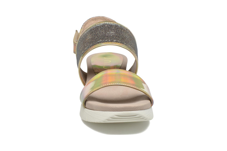 Sandali e scarpe aperte Unisa Barce Oro e bronzo modello indossato