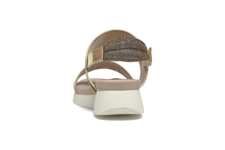 Sandali e scarpe aperte Unisa Barce Oro e bronzo immagine destra