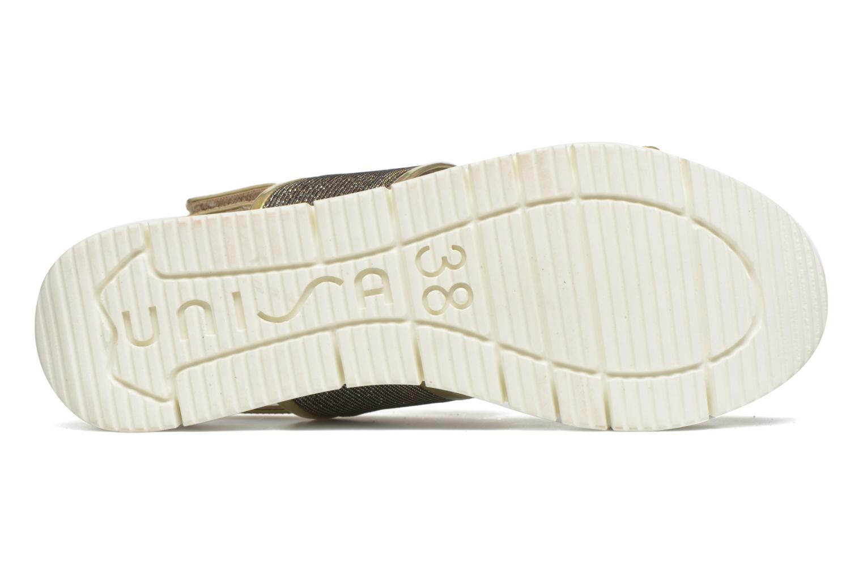 Sandali e scarpe aperte Unisa Barce Oro e bronzo immagine dall'alto