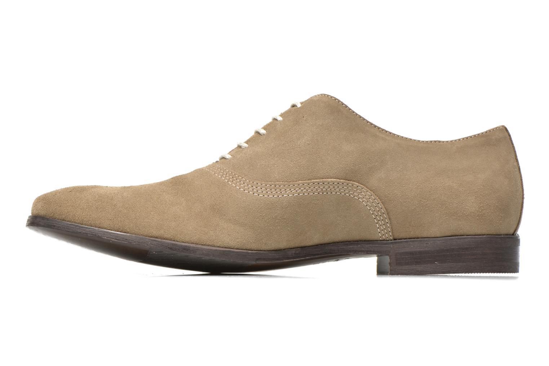 Chaussures à lacets Marvin&Co Nicolieu Beige vue face