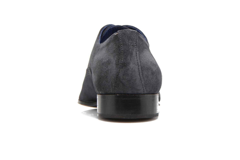 Zapatos con cordones Marvin&Co Nagoli Azul vista lateral derecha