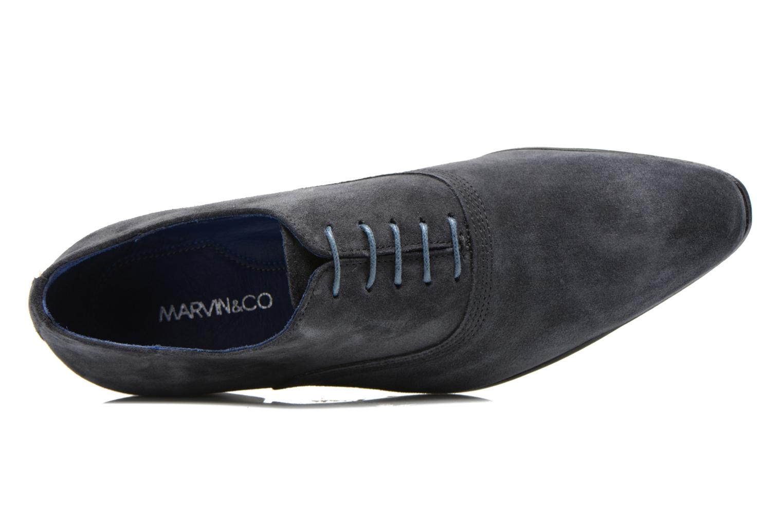Zapatos con cordones Marvin&Co Nagoli Azul vista lateral izquierda