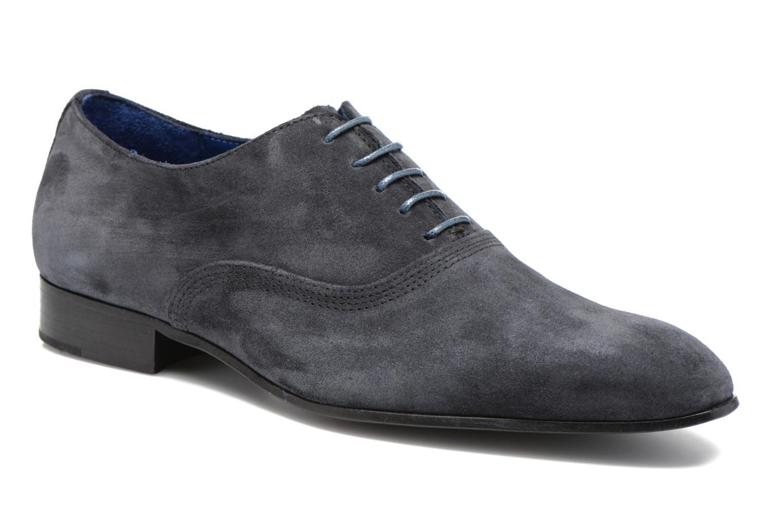 Zapatos con cordones Marvin&Co Nagoli Azul vista de detalle / par