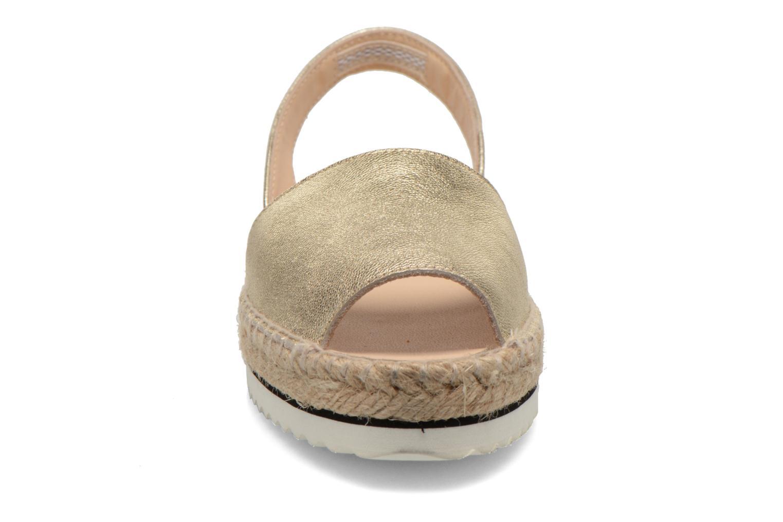 Sandales et nu-pieds Anaki Tequila Or et bronze vue portées chaussures
