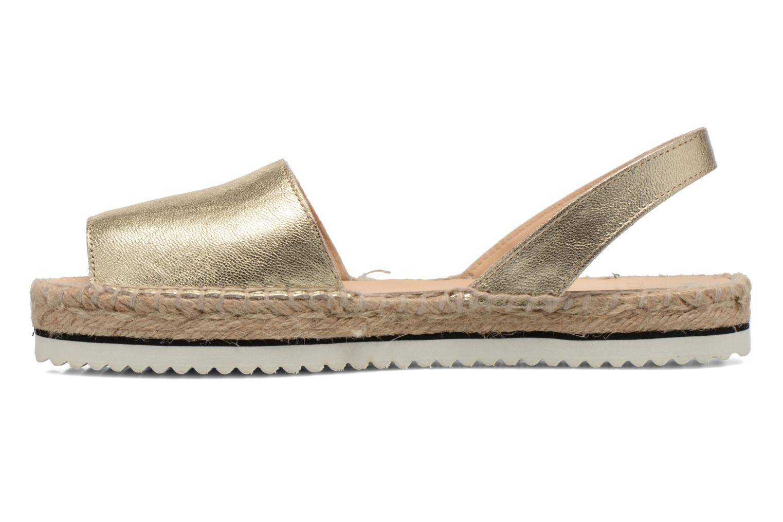 Sandales et nu-pieds Anaki Tequila Or et bronze vue face