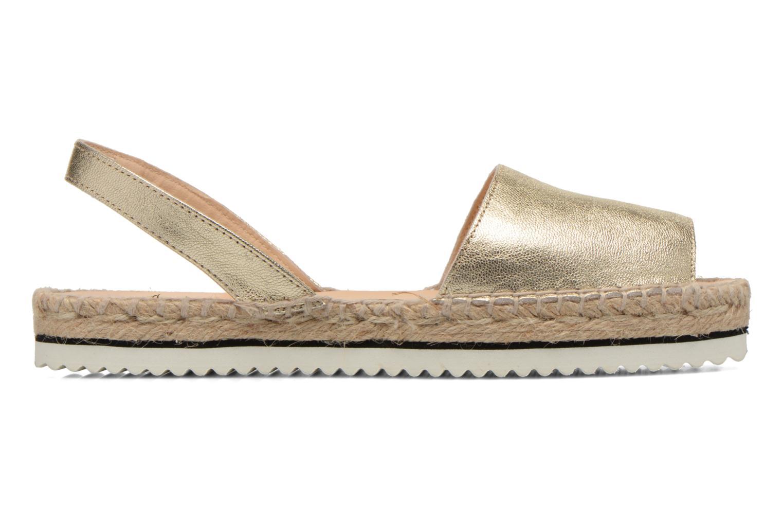 Sandales et nu-pieds Anaki Tequila Or et bronze vue derrière