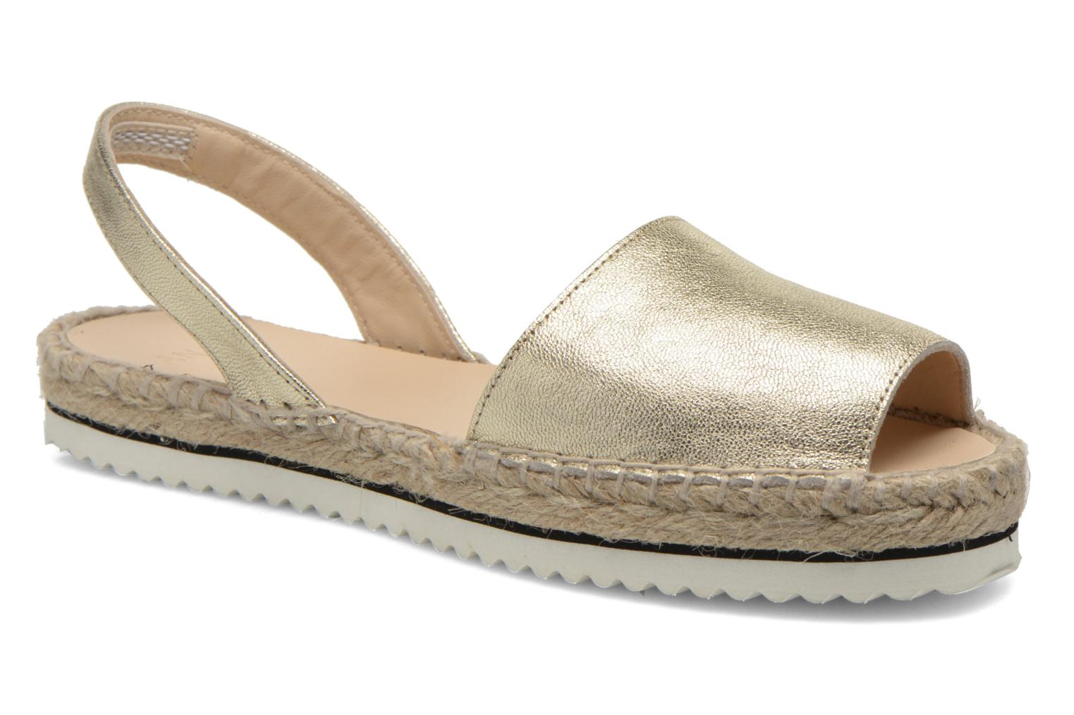 Sandals Anaki Tequila Bronze and Gold detailed view/ Pair view