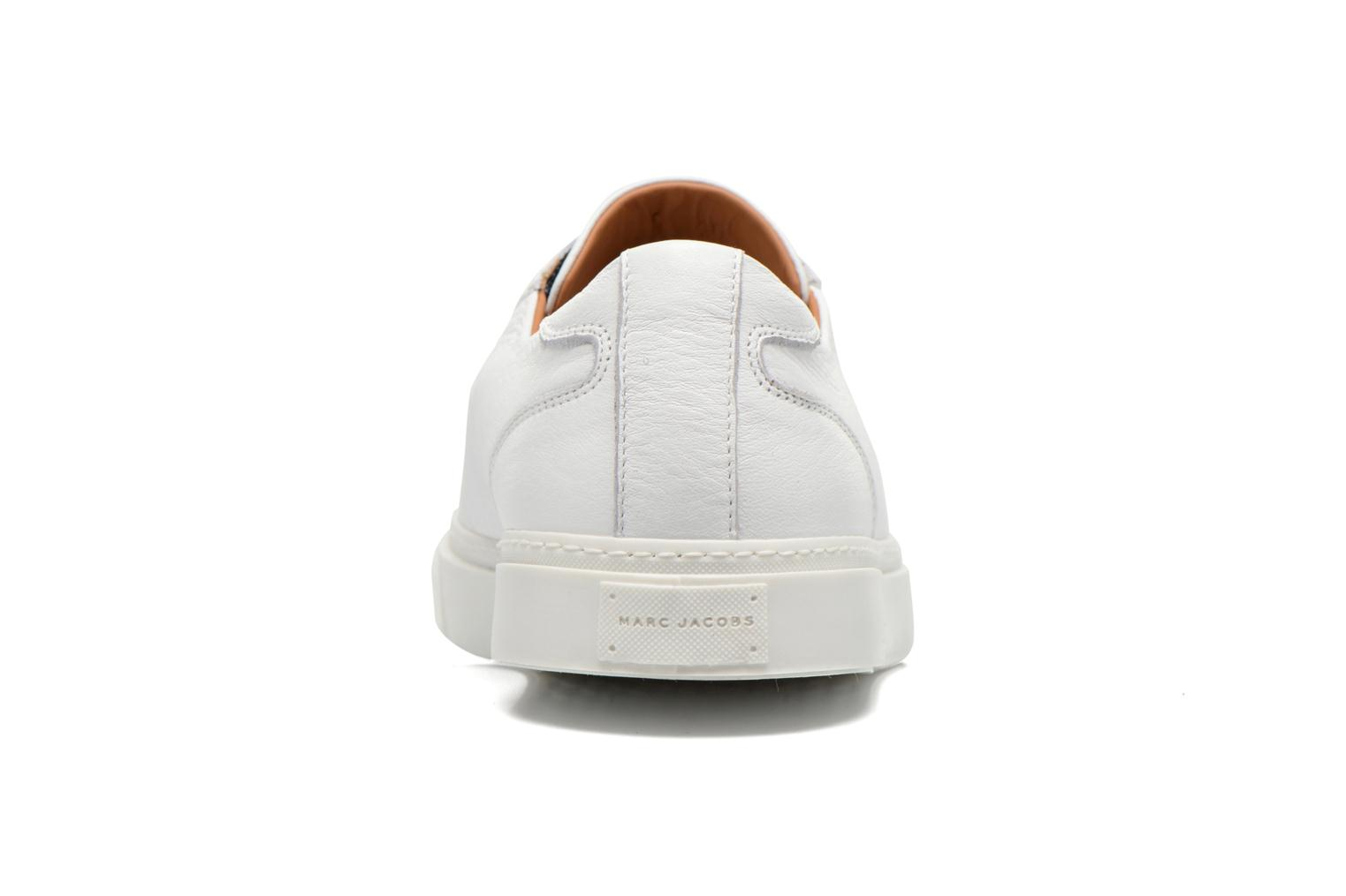 Baskets Marc Jacobs Welldone Blanc vue droite
