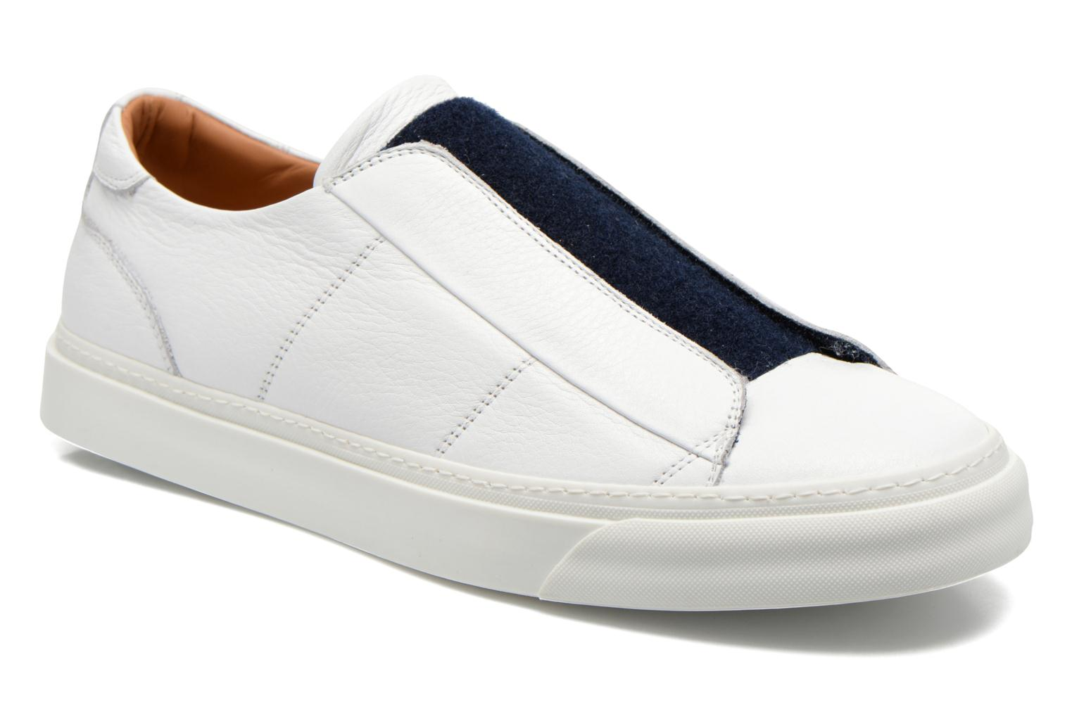 Baskets Marc Jacobs Welldone Blanc vue détail/paire