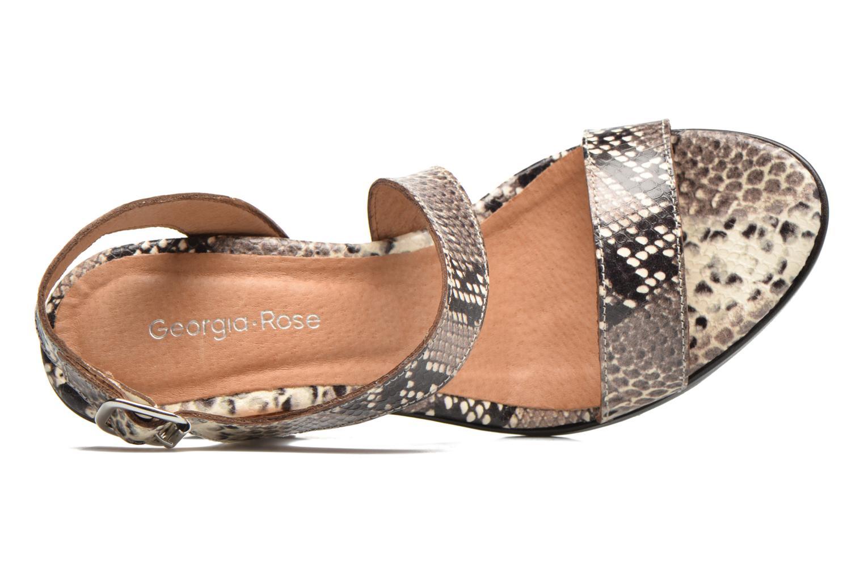 Sandali e scarpe aperte Georgia Rose Ecarme Beige immagine sinistra