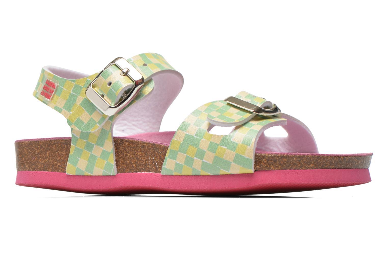 Sandales et nu-pieds Agatha Ruiz de la Prada Bio Agatha Vert vue derrière