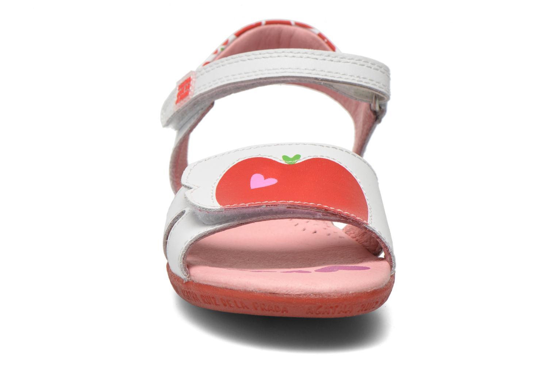 Sandales et nu-pieds Agatha Ruiz de la Prada Ella V Blanc vue portées chaussures