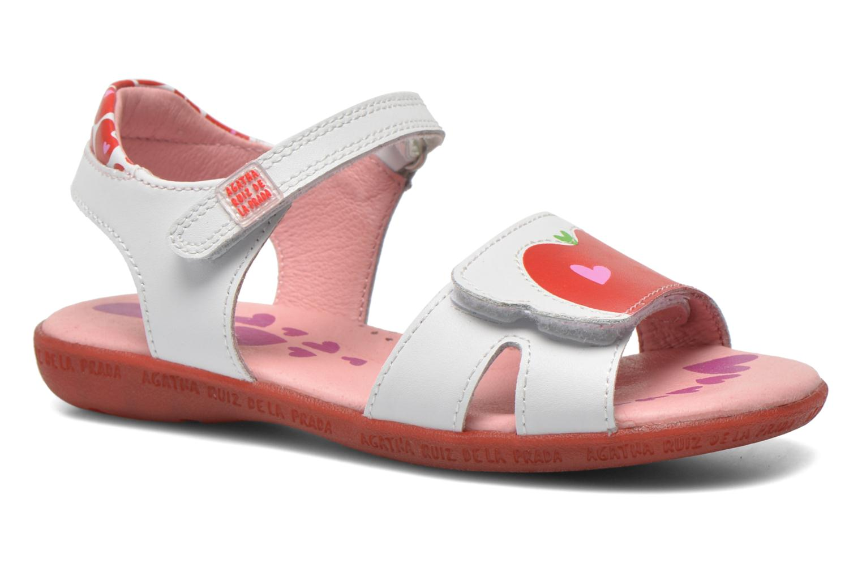 Sandales et nu-pieds Agatha Ruiz de la Prada Ella V Blanc vue détail/paire