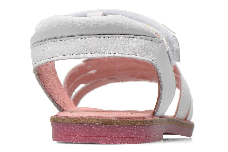 Sandales et nu-pieds Agatha Ruiz de la Prada Miss Ponza Blanc vue droite